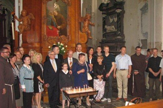 Odsłonięcie ołtarza św. Dydaka