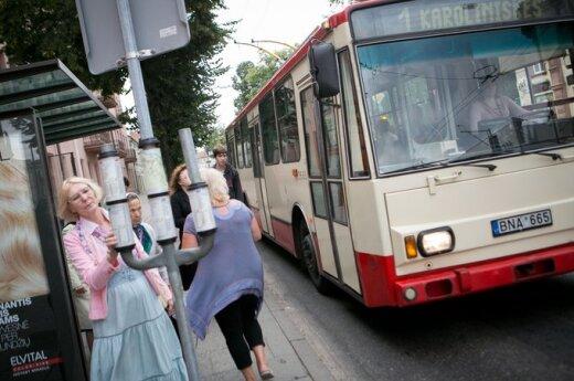 Viešojo transporto keleivė: kiekviena diena - išbandymas
