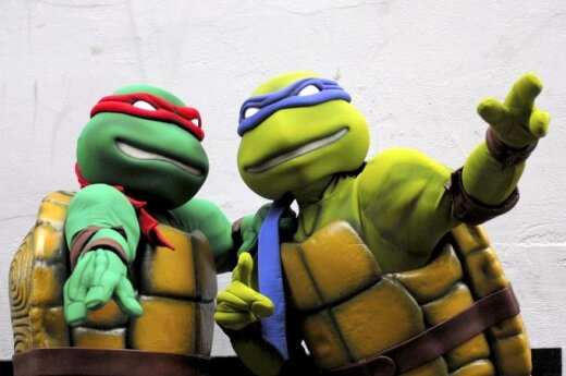 Żółwie ninja jednak mutantami