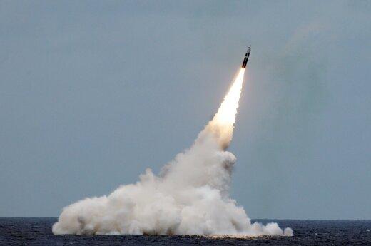 Gynybos ministerija: Šiaurės Korėjos paleista raketa Rusijai grėsmės nesukėlė
