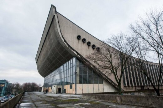 Soviet-era Vilnius Sports Palace to be reconstructed as congress centre