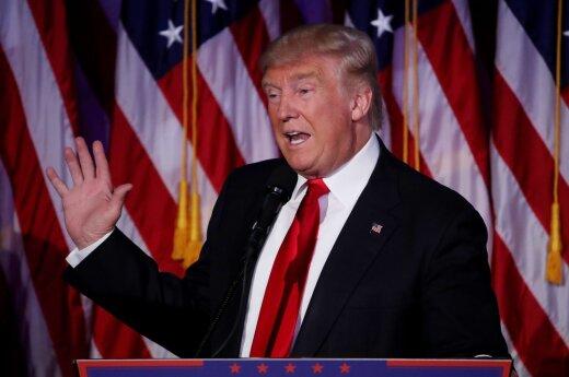 Первое выступление Трампа после победы: американской нации надо сплотиться