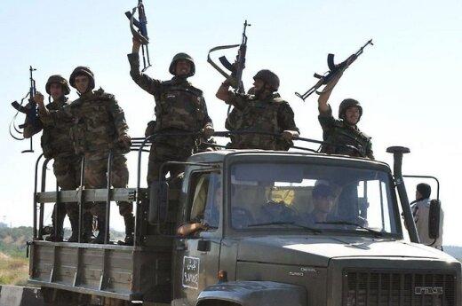 Войска Асада освободили еще один город на границе с Ливаном