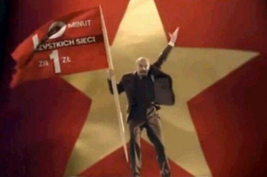 Wstrzymano reklamę z Leninem