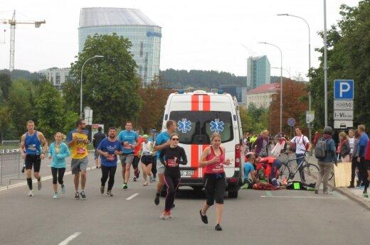 Vilniaus maratone mirė vienas iš dalyvių