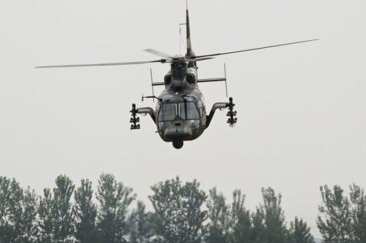 Kinijos sraigtasparnis Z-9WZ
