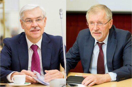 Zigmantas Balčytis ir Gediminas Kirkilas
