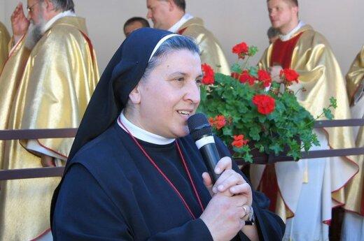 Siostra Michaela Rak, fot. Marian Paluszkiewicz