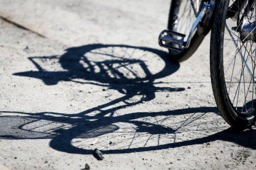В Паланге велосипедистка попала в реанимацию