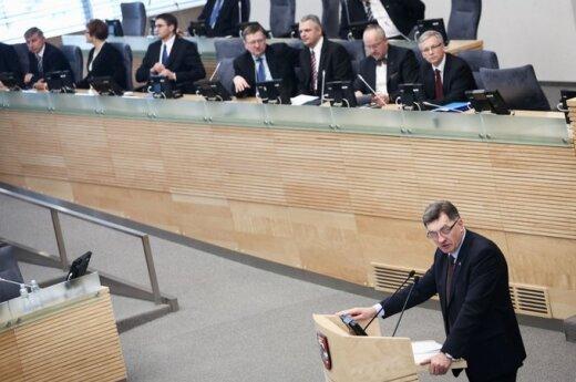 Algirdas Butkevičius ir Vyriausybės nariai