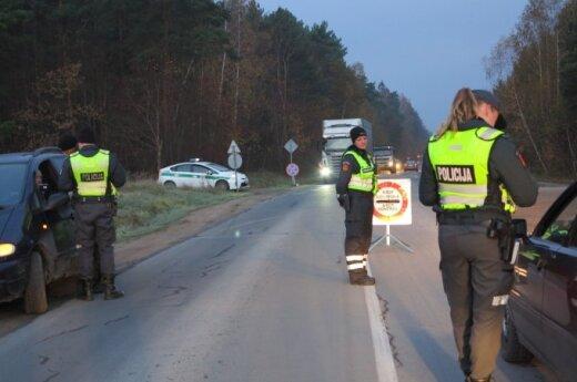 Клайпедская полиция провела рейд у Лебартайского кладбища