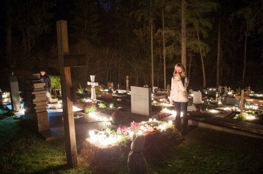All Saints, Vėlinės in Lithuania on Nov 1