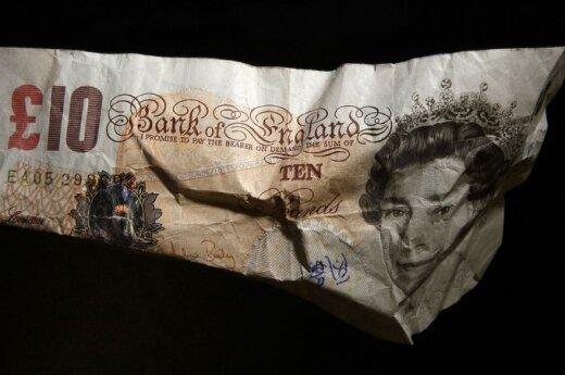 Na co dziesiątym brytyjskim banknocie znajduje się kokaina