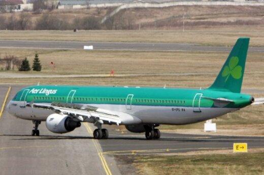 """""""Aer Lingus"""" pradeda skrydžius iš Londono į Vilnių"""