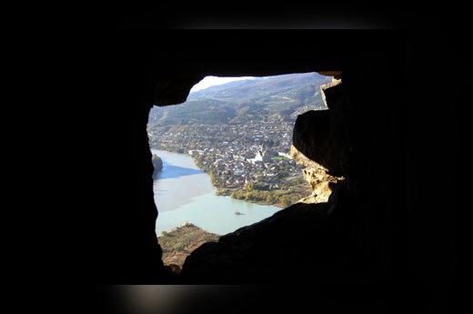 Vaizdas pro Mtskhetos vienuolyno anga.