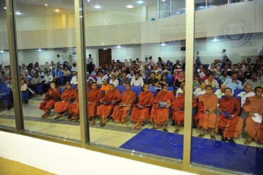 Kambodžoje teisiami Raudonųjų khmerų režimo lyderiai
