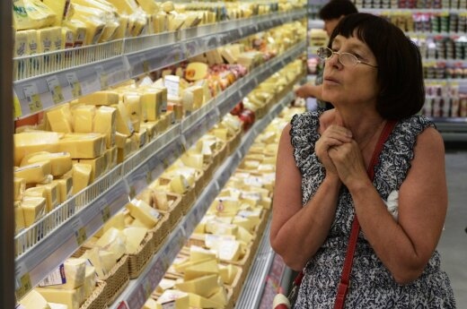Lithuanian cheese Džiugas 'Made in Argentina' found in Russian stores