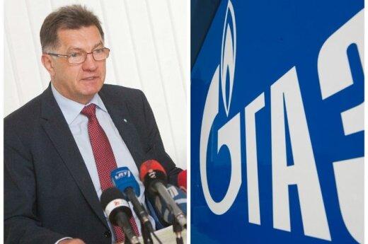 """Премьер: Литва не пойдет ни на какие уступки """"Газпрому"""""""