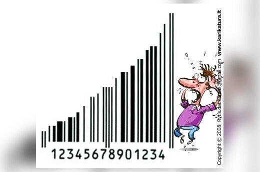 Цены на промтовары в Литве за год выросли на 1,9%