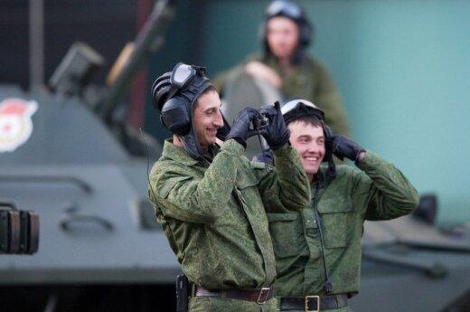 Rusijos kariuomenė rengiasi Pergalės dienos minėjimui