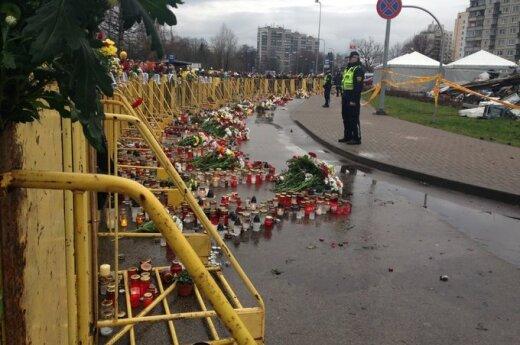 Tragedija Rygoje: akistata su mirtį sėjusiais griuvėsiais