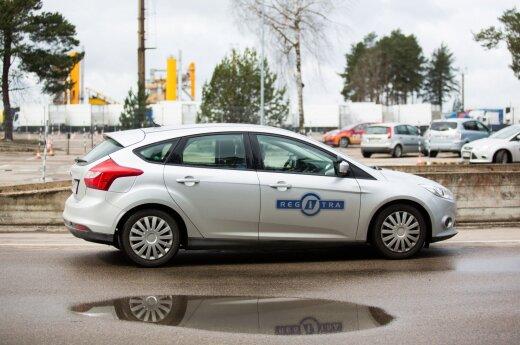 Vairavimo egzaminas (asociatyvi nuotr.)