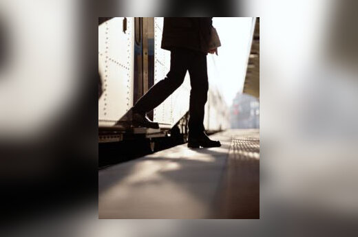 Exiting a Train