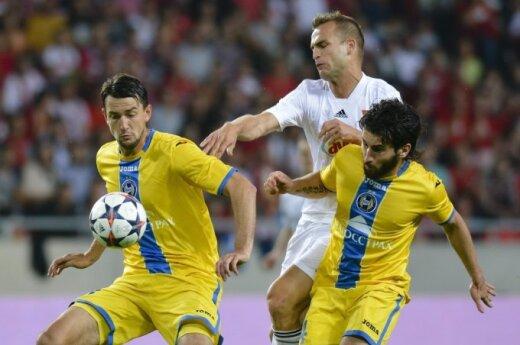 """Borisovo BATE ir """"Debrecen"""" futbolininkų dvikova"""