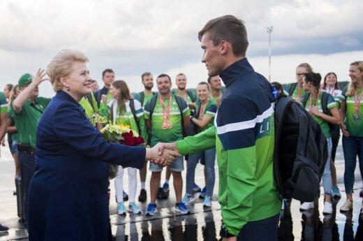 President congratulates Deaflympics team