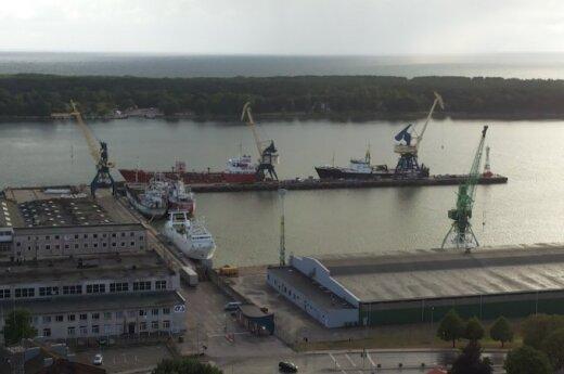 Ship with US heavy combat equipment arrives in Klaipėda