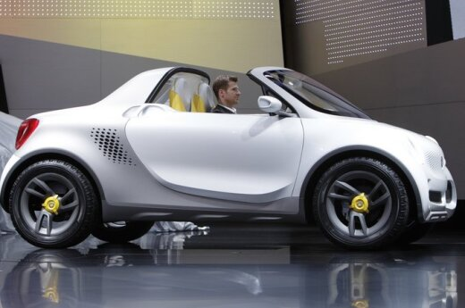 Детройт-2012: Smart представил микропикап For-Us