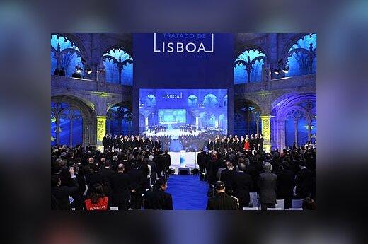 Lisabonos sutarties pasirašymo ceremonija