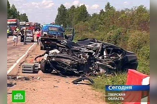 Per avariją Rusijoje žuvo lietuvis vairuotojas, ntv.ru nuotr.
