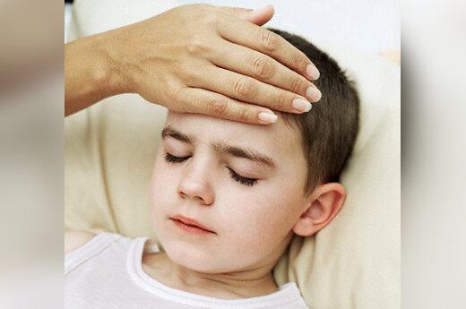 Vaikas serga, gripas, peršalimas