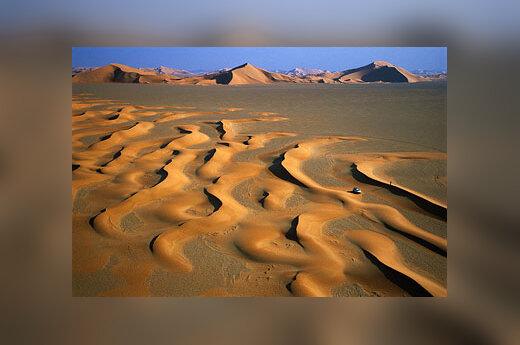 Saudo Arabija, dykuma