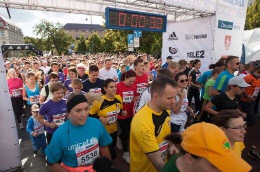 В воскресенье в Вильнюсе будут состязаться 5000 бегунов