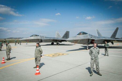 """F22 Raptors"" at the Zokniai"