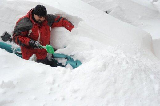 Фотожабы на снегопад в Киеве