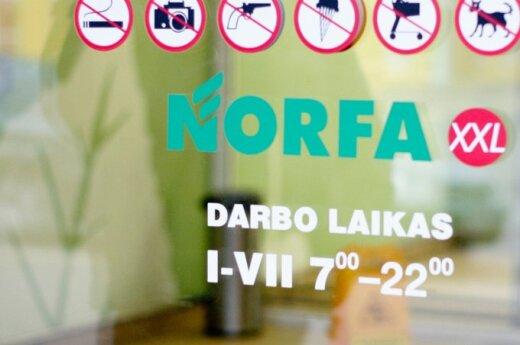 """Vilniuje uždaroma viena seniausių """"Norfos"""" parduotuvių"""