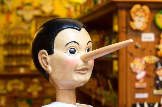 Kłamstwo metodą ucieczki przed niewygodnymi faktami