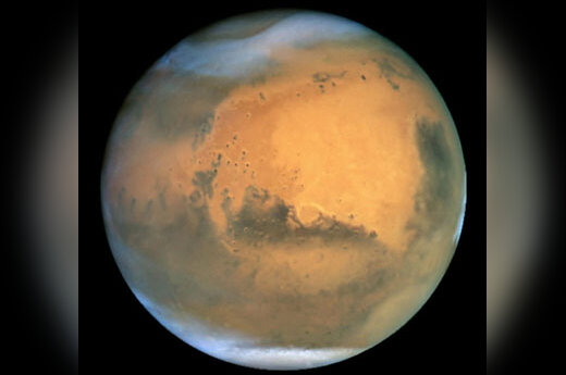 Marso urvuose galima gyvybė