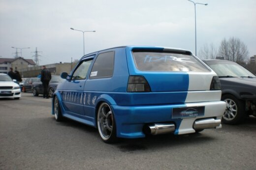 Savaitgalį Vilniuje buvo renkamas garsiausias automobilis