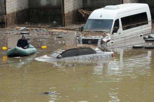Rosja: Niszczycielska powódź