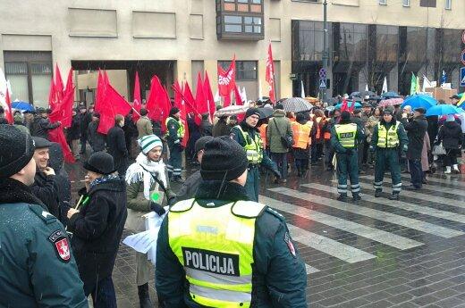Вильнюс готовится к крупнейшему после кризиса митингу