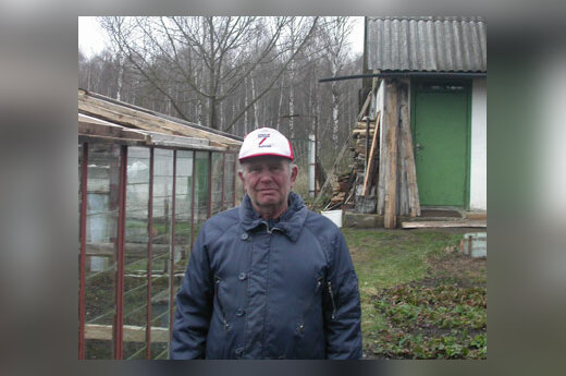 Пенсионер Федор Пархейчук