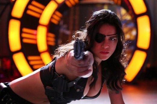 """Michelle Rodriguez filme """"Mačetė žudo"""""""