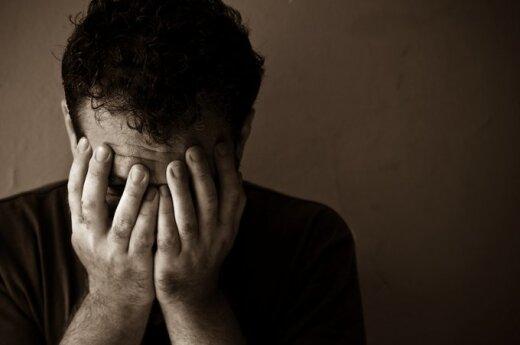 Depresuotas vyras