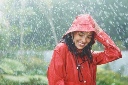 Blogas oras - ne priežastis liūdėti!
