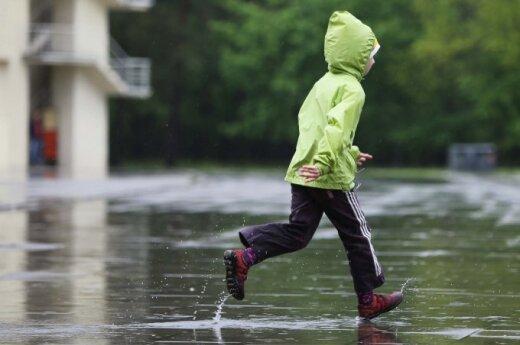 Дождя не будет только в субботу