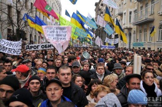 Украинских предприниматели вышли на Майдан